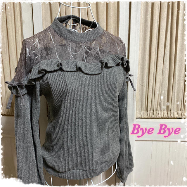 ByeBye(バイバイ)のBye Bye  ニット セーター カットソー レディースのトップス(ニット/セーター)の商品写真