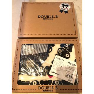 ダブルビー(DOUBLE.B)のDOUBLE.B バスポンチョ スタイ セット MIKIHOUSE(その他)