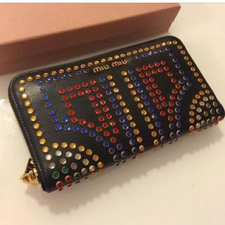 ミュウミュウ(miumiu)のミュウミュウ財布(長財布)