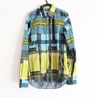 マルニ(Marni)のマルニ 長袖シャツ サイズ44 S メンズ美品 (シャツ)