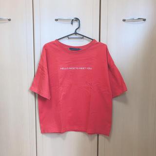 ダブルクローゼット(w closet)の【w  closet】Tシャツ レディースMサイズ(Tシャツ(半袖/袖なし))