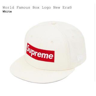 シュプリーム(Supreme)のSupreme World Box Logo New Era Cap 7 1/4(キャップ)