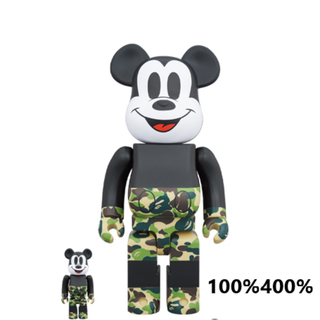 BE@RBRICK BAPE MICKEY MOUSE 100%400%(その他)