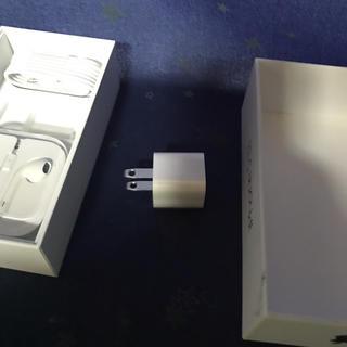 アイフォーン(iPhone)のiPhone Apple純正付属品 USB電源アダプター(変圧器/アダプター)