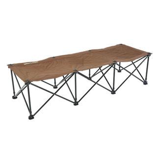 ユニフレーム(UNIFLAME)のユニフレーム リラックスコット ブラウン(テーブル/チェア)