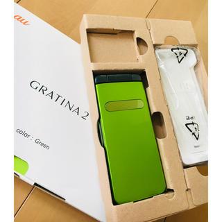 エーユー(au)の3G 携帯 GRATINA2(本体のみ時1000円)(携帯電話本体)