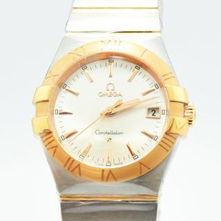 オメガ(OMEGA)のオメガ 新品メンズ OMEGA コンステレーション クォーツSS K18PG (腕時計(デジタル))