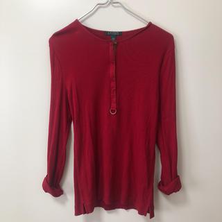 ラルフローレン(Ralph Lauren)のラルフローレン赤シャツ(シャツ/ブラウス(半袖/袖なし))