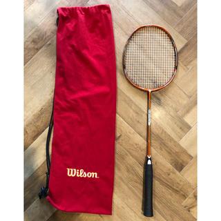 ウィルソン(wilson)のバドミントンラケット ウィルソン 美品 wilson vertex(バドミントン)