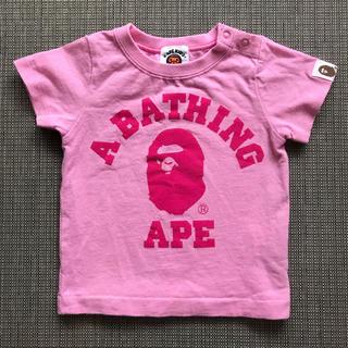 アベイシングエイプ(A BATHING APE)のBAPE KIDS 70cm Tシャツ(Tシャツ)