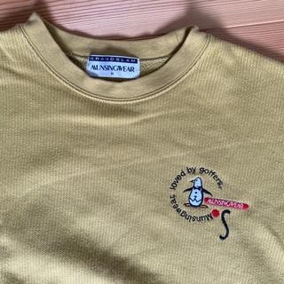 マンシングウェア(Munsingwear)のブラックフライデー価格 MUNSIMGWEAR マンシングウェア スエット(トレーナー/スウェット)