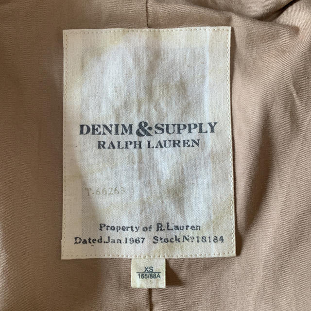 Denim & Supply Ralph Lauren(デニムアンドサプライラルフローレン)のdenim & supply Ralph Lauren デニムベスト XS メンズのトップス(ベスト)の商品写真