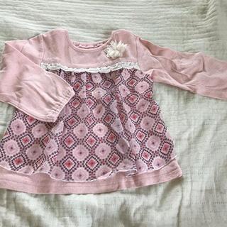 ビケットクラブ(Biquette Club)のビスケットクラブ 美品 Tシャツ トレーナー 80 キタムラン(トレーナー)