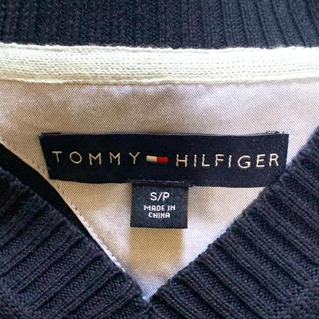 TOMMY HILFIGER(トミーヒルフィガー)のTOMMY HILFIGER コットンニットベスト S メンズのトップス(ベスト)の商品写真