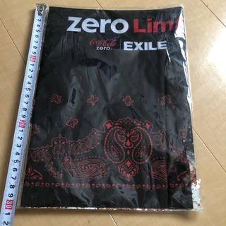 エグザイル(EXILE)のコカ・コーラ ZERO Limitバンダナ EXILE(ノベルティグッズ)