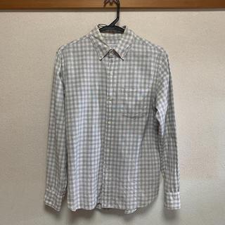 エディフィス(EDIFICE)のEDIFICE ボタンダウンチェックシャツ M(シャツ)