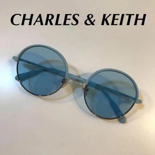チャールズアンドキース(Charles and Keith)のチャールズアンドキース ラウンドサングラス(サングラス/メガネ)