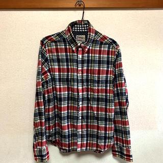 ザダファーオブセントジョージ(The DUFFER of ST.GEORGE)のDUFFER ボタンダウンチェックシャツ M(シャツ)