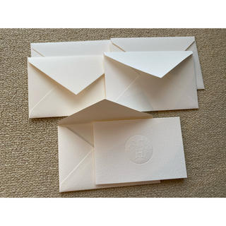 エルメス(Hermes)のエルメス メッセージカード&封筒 5セット(カード/レター/ラッピング)