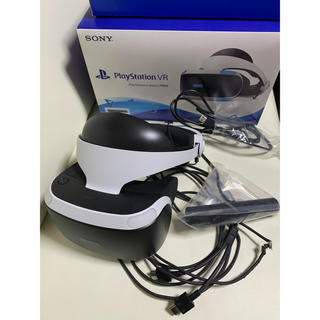 プレイステーションヴィーアール(PlayStation VR)のPlayStation VR Camera同梱版 CUH-ZVR2 ジャンク品(家庭用ゲーム機本体)