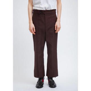 コモリ(COMOLI)のomar afridi  19aw rover trousers サイズM(スラックス)