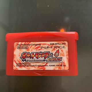 ゲームボーイアドバンス(ゲームボーイアドバンス)のポケモンGBA ファイヤーレッド(携帯用ゲームソフト)