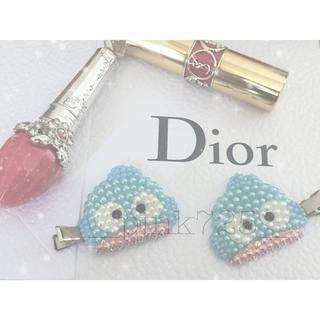ディオール(Dior)の前髪クリップ(ヘアピン)