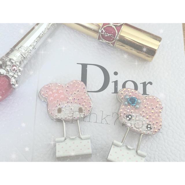 Dior(ディオール)の文房具クリップ 前髪クリップ レディースのヘアアクセサリー(ヘアピン)の商品写真