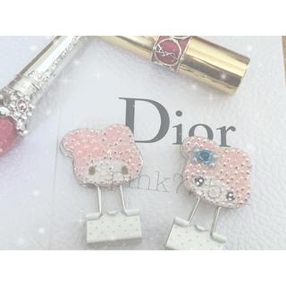 ディオール(Dior)の文房具クリップ 前髪クリップ(ヘアピン)