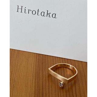 Hirotaka ヒロタカ ピンキーリング ダイヤモンド(リング(指輪))