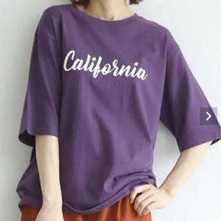 coca♡プリントロゴTシャツ パープル(Tシャツ(半袖/袖なし))