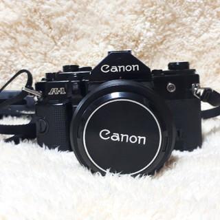 キヤノン(Canon)のキャノンA-1&フラッシュ(動作確認済み)(フィルムカメラ)