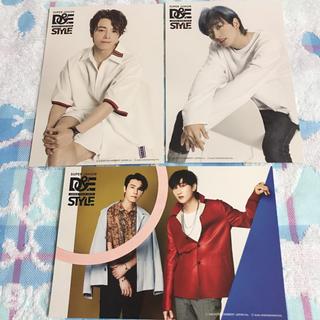 スーパージュニア(SUPER JUNIOR)のウネ ポストカード3枚セット STYLE(K-POP/アジア)