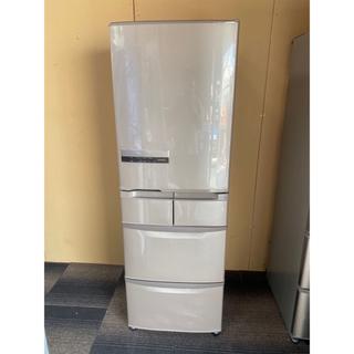 ヒタチ(日立)の日立冷凍冷蔵庫 2015年製 415L  5ドア 自動製冰機付(冷蔵庫)