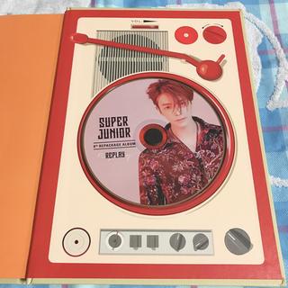 スーパージュニア(SUPER JUNIOR)のドンヘ REPLAY アルバム SUPER JUNIOR(K-POP/アジア)