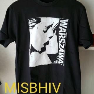 ラフシモンズ(RAF SIMONS)のMISBHIVミスビヘイブ WARSZAWATシャツ(Tシャツ/カットソー(半袖/袖なし))