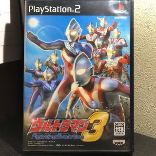 バンプレスト(BANPRESTO)のウルトラマン ファイティングエボリューション 3 PS2(家庭用ゲームソフト)