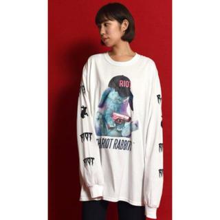 ミルクボーイ(MILKBOY)の MILKBOY RIOT RABBIT Long Sleeve T  XXL (Tシャツ/カットソー(七分/長袖))