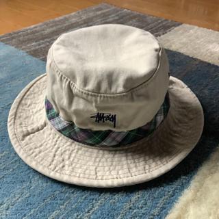 STUSSY - 90s  OLD ステューシー stussy  バケットハット 帽子