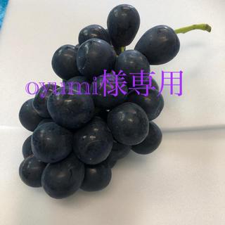 oyumi様専用 ナガノパープル2kg(フルーツ)