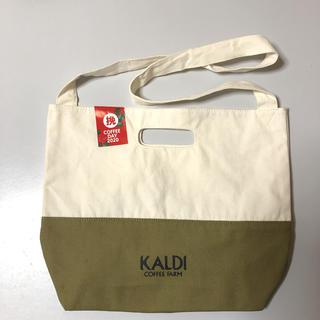 カルディ(KALDI)のKALDI カルディ コーヒーの日 トートバッグ ショルダーバッグ(トートバッグ)