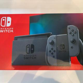 ニンテンドウ(任天堂)の店舗印あり!Nintendo Switch Joy-Con(L)/(R) グレー(家庭用ゲーム機本体)