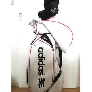 アディダス(adidas)の【募集停止】レディースゴルフセット(その他)