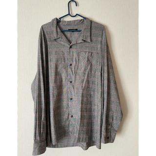 ギャルソンウェーブ(Garcon Wave)のチェックオープンカラーシャツ(シャツ)