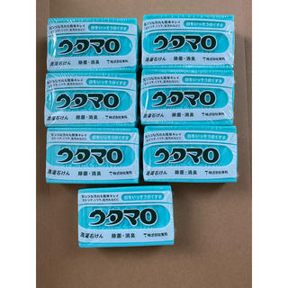 トウホウ(東邦)のウタマロ石鹸×7(ボディソープ/石鹸)