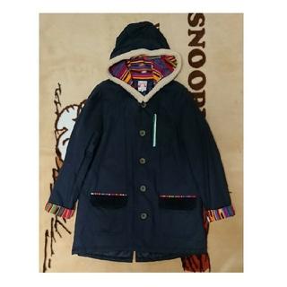 チチカカ(titicaca)の美品 チチカカ  コート ネイビー Lサイズ(ロングコート)