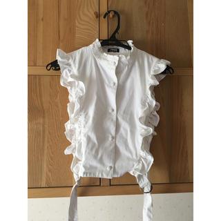 パメオポーズ(PAMEO POSE)のPAMEOPOSE フリルシャツ(シャツ/ブラウス(半袖/袖なし))