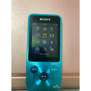 ウォークマン(WALKMAN)のWALKMAN NW-S785 BLUE 16GB(ポータブルプレーヤー)