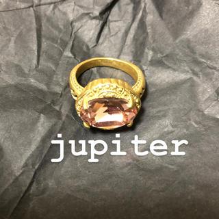 ジュピターゴールドレーベル(jupiter GOLD LABEL)のjupiter リング ♡(リング(指輪))