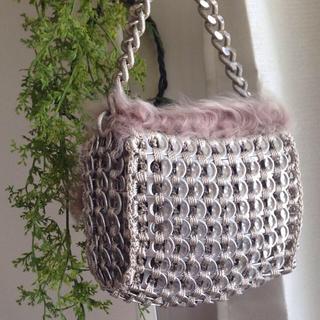 DALALEO ☆ プルタブバッグ(ムートン) レディースのバッグ(ハンドバッグ)の商品写真